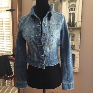 Jackets & Blazers - Fitted style Jeans jacket